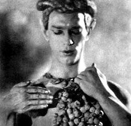 Nijinski_à_mi-corps_tenant_une_grappe_de_raisins_par_Adolf_de_Meyer_1914_extrait_de_l´album_L´après-midi_d´un_faune_édité_par_Iribe copy 2